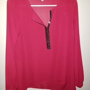 Juicy Couture small sheer top